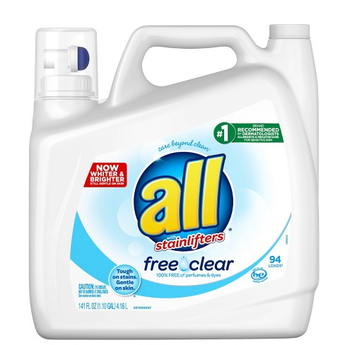 Allergy Friendly Detergents
